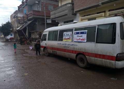 محافظ دمياط: الكشف على 2400 مواطن بالمحمدية ضمن قافلة طبية