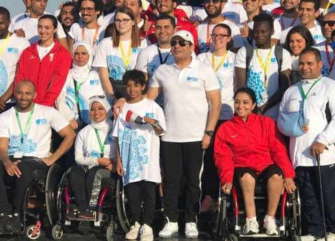 """أبطال ماراثون منتدى شباب العالم لـ""""الوطن"""": الرئيس أشاد بنجاحنا"""