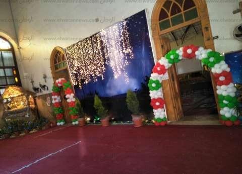 كنائس أسيوط تنهي استعداداتها لاستقبال عيد الميلاد المجيد