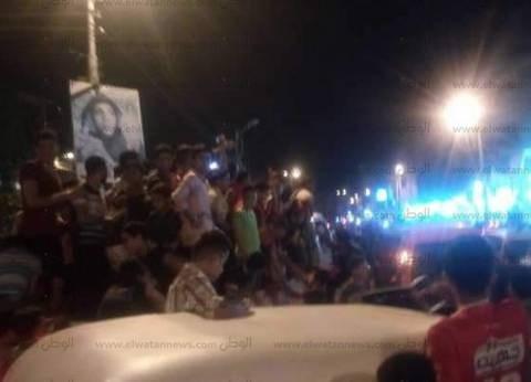 احتفالات عارمة في حدائق الأهرام بتأهل مصر إلى مونديال روسيا