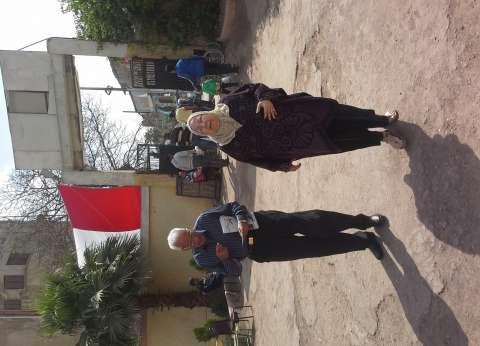 لجان العمرانية والهرم تفتح أبوابها في ثاني أيام الاستفتاء