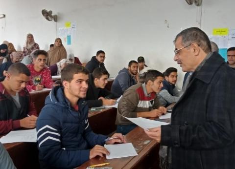 رئيس جامعة بنها: نسعى جاهدين لتطوير منظومة الامتحانات