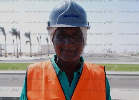«مصطفى» شارك فى إنشاء 6 مطارات وآخرها «سفنكس»