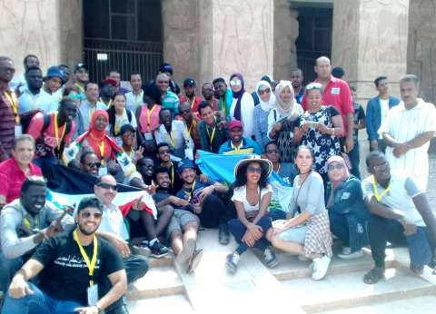 محافظ سوهاج: منطقة أبيدوس الأثرية استقبلت 250 من الشباب العربي