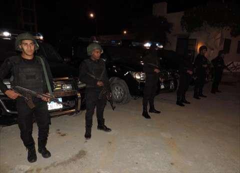 ضبط 8 هاربين خلال حملة أمنية في الإسماعيلية