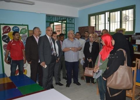 وزيرة الهجرة تفتتح مدرسة جمال عبدالناصر في بولاق الدكرور بعد تطويرها