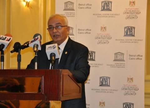 حجازي: لدينا 44 حالة غش بالمحمول.. وحرمانهم من الامتحان لمدة عام