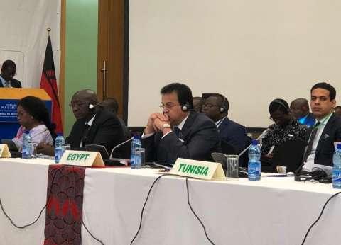 وزير التعليم العالي يلقي كلمة مصر أمام قمة «C10» لرؤساء إفريقيا