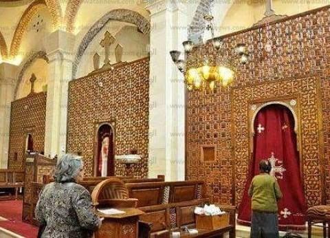 كنيسة «العذراء مـريـم» فى سـخـا.. مزار سياحى يحمل أثر «قدم السيد المسيح»