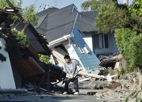 ارتفاع حصيلة ضحايا زلزال اليابان إلى 42 قتيلا