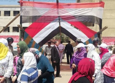 إقبال كثيف على لجان شبرا الخيمة آخر أيام الاستفتاء على تعديل الدستور