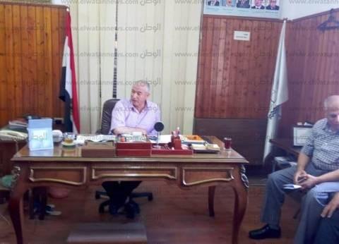"""بالصور  وكيل """"زراعة كفر الشيخ"""" يعقد اجتماعا لمناقشة آخر مستجدات القطن"""