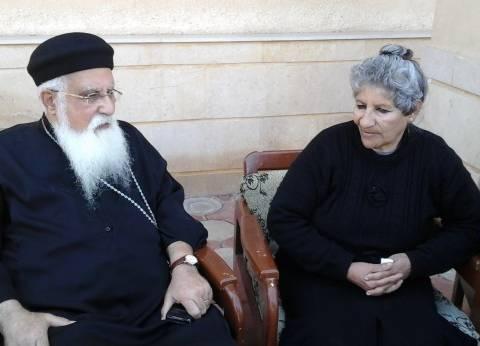 «نبيلة حنا» تروى لـ«الوطن» تفاصيل جريمة قتل زوجها وابنها على يد الإرهابيين بالعريش