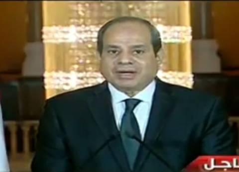 عاجل| السيسي: أمّنا الحدود من دخول الإرهابيين حتى في عهد النظام السابق