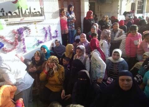 """""""الأورمان"""" تكرم 300 طفل يتيم بنادي القوات المسلحة في كفرالشيخ"""