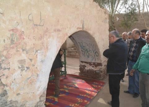 """محافظ المنيا من أمام قبة السبع بنات: """"هخليها البقيع الثاني"""""""