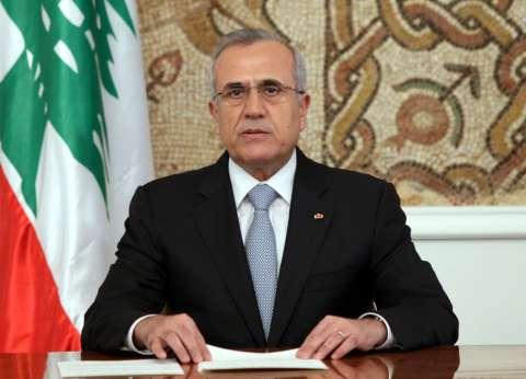 الرئيس اللبناني السابق يعزي بلجيكا في ضحايا التفجيرات الإرهابية