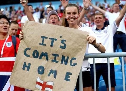 سر عبارة It's Coming Home التي يرددها جمهور إنجلترا في كأس العالم