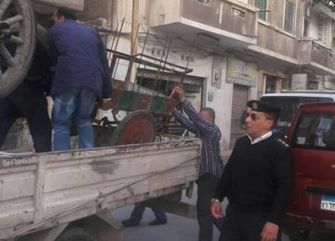 تحرير 39 قضية مخالفات في حملة مرافق بمدينة مرسى مطروح