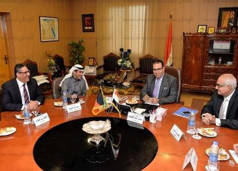 جامعة المنصورة توقع برتوكول تعاون مع وزارة التعليم العالي الكويتية