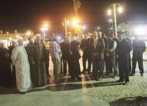 فودة يتفقد الاستعدادات لافتتاح مسجد الصحابة وتطوير السوق القديم