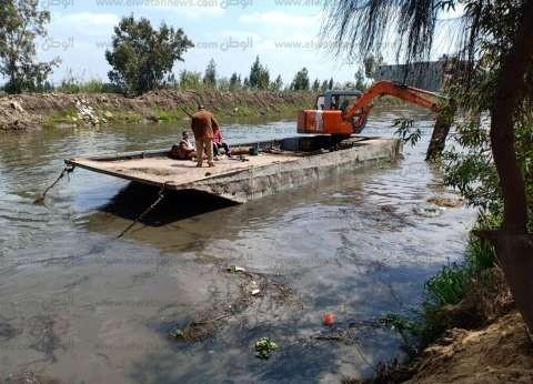 بالصور| محافظ كفرالشيخ يتابع إنجازات الإدارة المركزية للموارد المائية