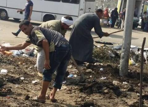 تجميل ميدان قصر ثقافة بهتيم بشارع 15 مايو بحي شرق شبرا الخيمة