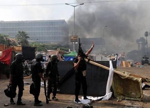 """مصادر لـ""""الوطن"""": الضباط المشتبه في تورطهم بـ«مذبحة حلوان» شاركوا في فض رابعة"""