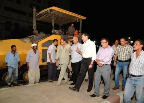محافظ أسيوط يشدد على إنهاء أعمال رصف حي غرب طبقا للخطة الزمنية