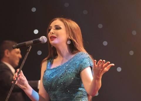 بالصور| نجوم الفن والإعلام في حفل الفنانة أنغام بالتجمع الخامس