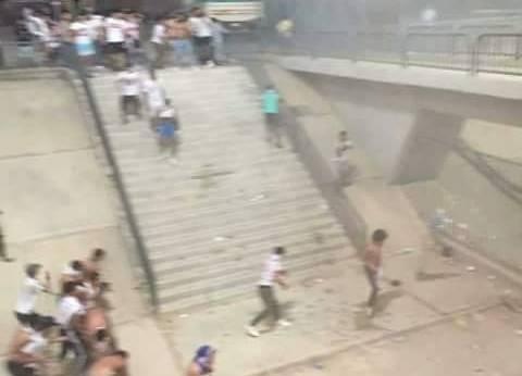"""""""أمن الإسكندرية"""" يفض مظاهرة لأهالي """"مشجعي الزمالك"""" بعد قرار حبسهم"""