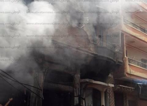مصدر أمني لا خسائر بشرية في حريق عقارين بالإسماعيلية