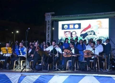 بالصور| محافظ الإسماعيلية يشهد احتفال الثقافة بذكرى ثورة 23 يوليو