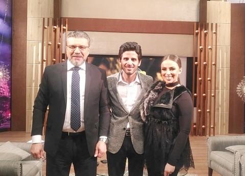 """الليلة.. حمدي الميرغني وزوجته ضيفا عمرو الليثي على """"النهار"""""""