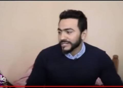"""تامر حسني معزيا شيرين في وفاة والدها: """"البقاء لله يا صديقة العمر"""""""