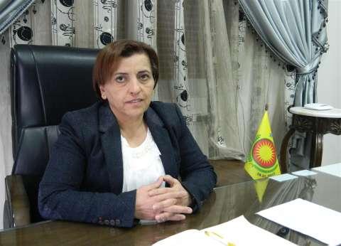 الرئيسة المشتركة لـ«تنفيذى عفرين»: نتعرض لاعتداءات بربرية.. وادعاءات وجود إرهابيين لدينا مفضوحة