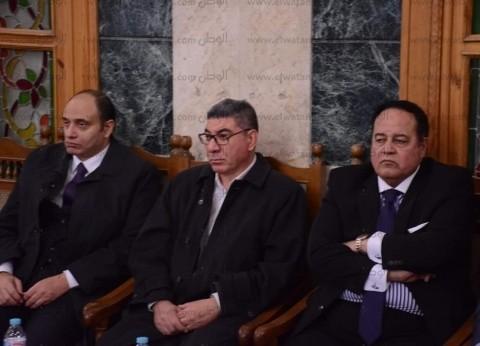 سفير فلسطين ووكيل الهيئة الوطنية للصحافة يصلان عزاء والدة جمال الشاعر