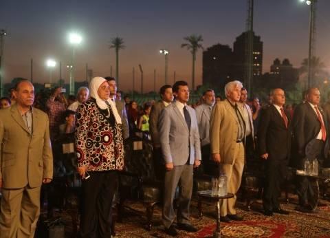 وزير الشباب والرياضة يشهد احتفالات 30 يونيو بمركز الجزيرة
