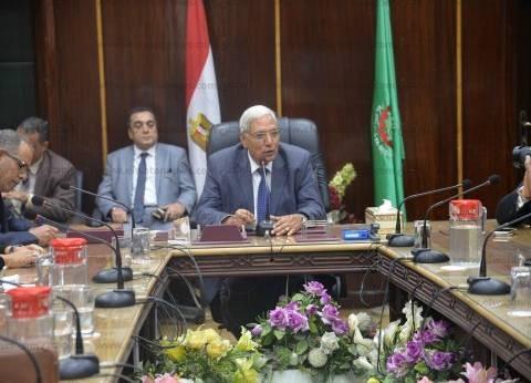 محافظ الدقهلية: محاربة الفساد أهم أولويات الدولة.. ومصر 2020 أفضل