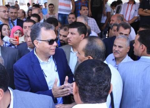 وزير النقل يتابع اللمسات الأخيرة لطريق «شبرا - بنها» الحر قبل افتتاحه