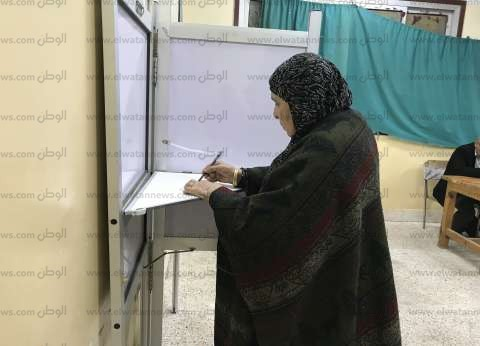 زحام وطوابير بلجان كفر الشيخ في اليوم الثالث للاستفتاء