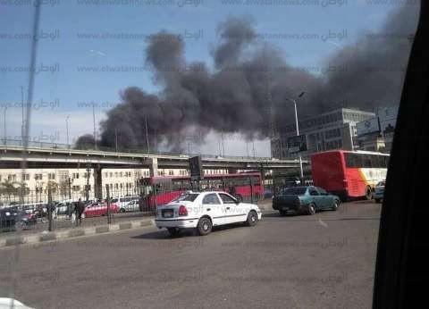 تواجد أمني مكثف لمنع التكدس المروري بمحيط محطة مصر