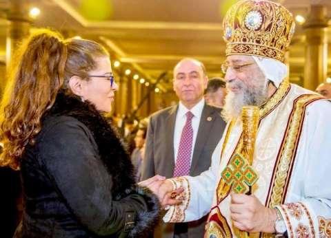 """""""ناعوت"""" تشارك باليوبيل الذهبي للكاتدرائية: مسلمون شاركوا المحبة بالحفل"""