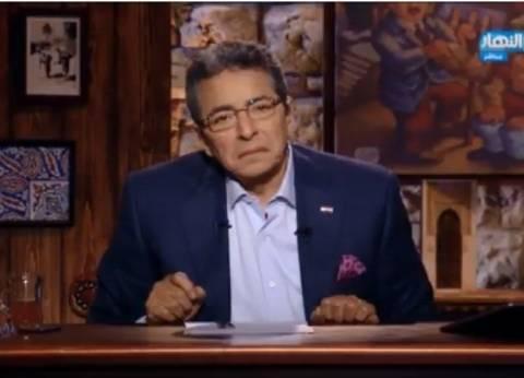 """محمود سعد عن إقالة رئيس """"الأوقاف"""": التغيير من الداخل لن يفيد"""