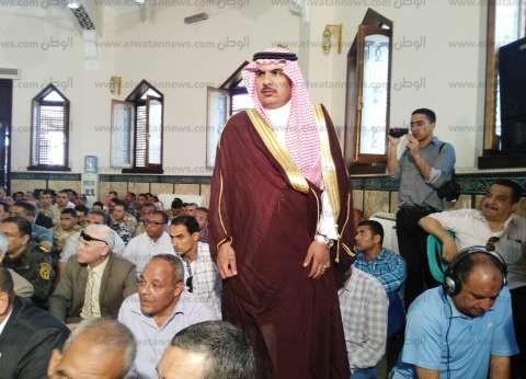 أهالي شمال سيناء يودعون 137 حاجا في طريقهم للأراضي المقدسة