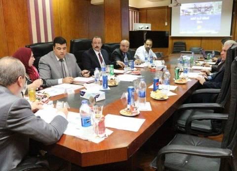 بالصور| محافظ دمياط يرأس اجتماع مجلس إدارة المنطقة الاستثمارية الحرة