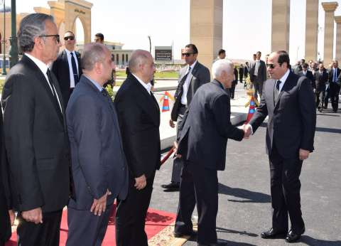 السيسي يتقدم الجنازة العسكرية للفريق صفي الدين أبو شناف