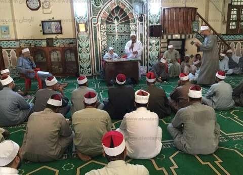 """""""مياه بني سويف"""" تختتم سلسلة ندوات توعوية لأئمة المساجد عن ترشيد المياه"""