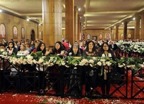 بدء قداسات عيد القيامة بالكنائس الأرثوذكسية