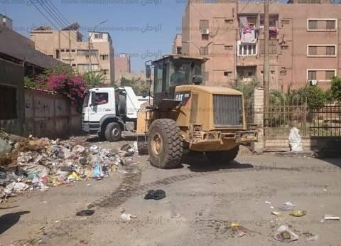 رفع 120 طن قمامة من شوارع مدينة بني سويف